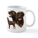 Chocolate Labrador Retriever Mug