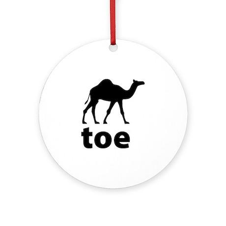I love Camel Toe Ornament (Round)