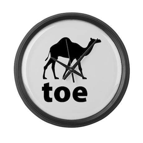 I love Camel Toe Large Wall Clock