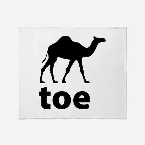 I love Camel Toe Throw Blanket