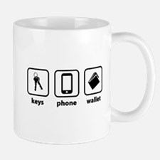 Keys Phone Wallet Mug