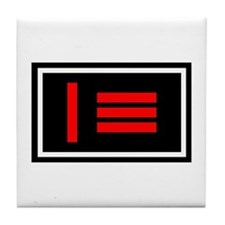 Dom/sub Master/slave Pride Flag Tile Coaster