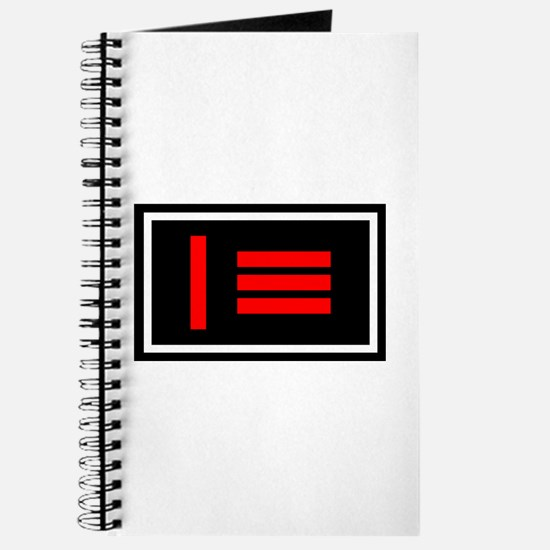 Dom/sub Master/slave Pride Flag Journal