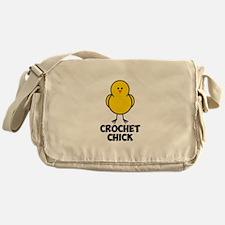 Crochet Chick Messenger Bag