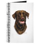 Chocolate Labrador Retriever Journal