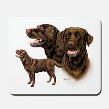 Chocolate Labrador Retriever Mousepad