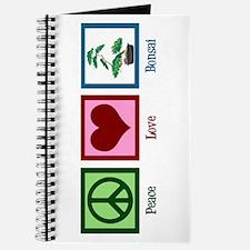 Peace Love Bonsai Journal