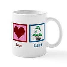 Peace Love Bonsai Mug