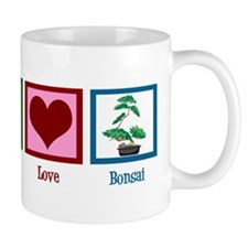 Peace Love Bonsai Mug