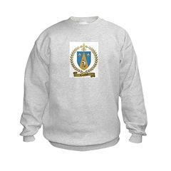 LOUVIERE Family Crest Sweatshirt