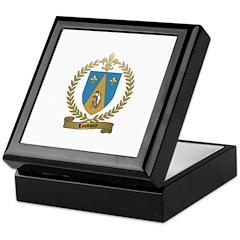 LOUVIERE Family Crest Keepsake Box