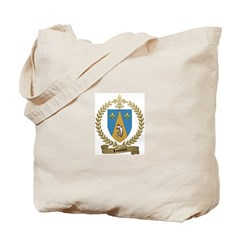 LOUVIERE Family Crest Tote Bag