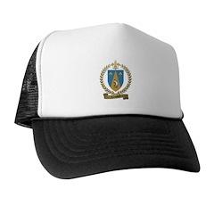 LOUVIERE Family Crest Trucker Hat