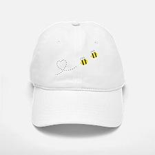 Bee in Love Baseball Baseball Cap