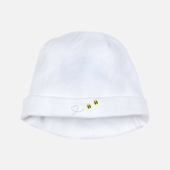 Bee in Love baby hat