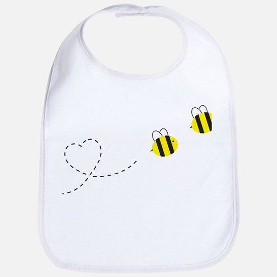 Bee in Love Bib