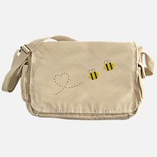 Bee in Love Messenger Bag