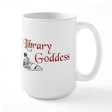 Library Goddess Vintage Mug