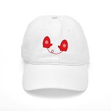 Mittens - Red Baseball Cap