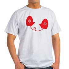 Mittens - Red T-Shirt