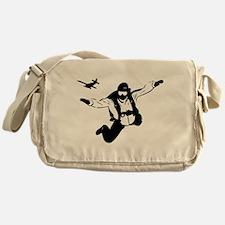 Skydiving Messenger Bag