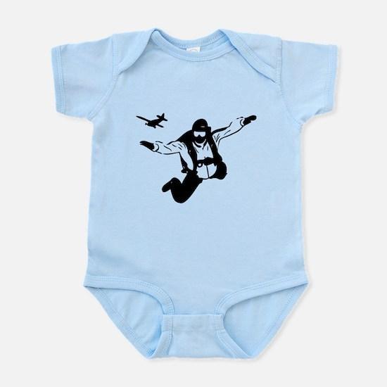 Skydiving Infant Bodysuit
