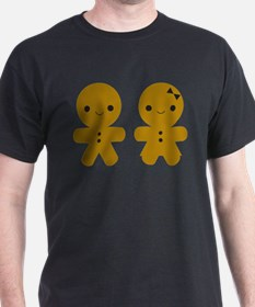 Gingerbread Boy and Girl T-Shirt