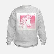 1 Pink Unicorn Sweatshirt