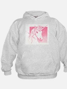 1 Pink Unicorn Hoodie