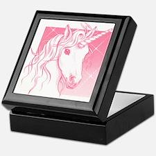 1 Pink Unicorn Keepsake Box