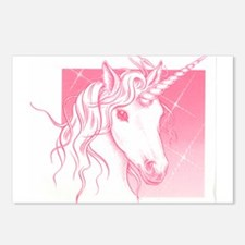 1 Pink Unicorn Postcards (Package of 8)