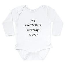 Comparative advantage Long Sleeve Infant Bodysuit