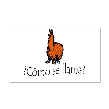 Como Se Llama (The Original 2005 Print) Car Magnet