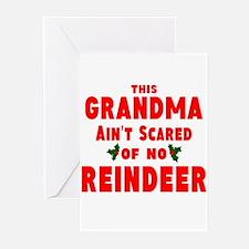 Grandma Got run over Greeting Cards (Pk of 10)