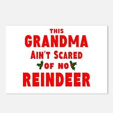Grandma Got run over Postcards (Package of 8)