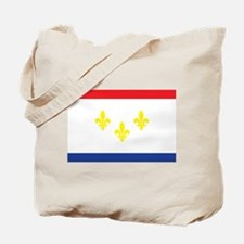 New Orleans Flag Tote Bag