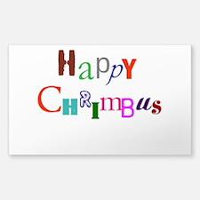 Happy Chrimbus Decal