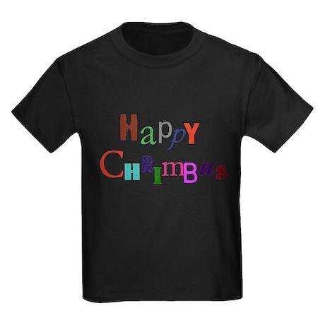 Happy Chrimbus Kids Dark T-Shirt