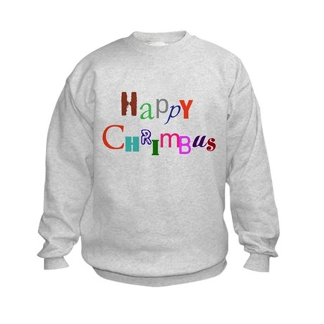 Happy Chrimbus Kids Sweatshirt