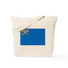 Nevada Flag Tote Bag