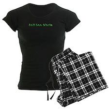 Soli Deo Gloria Green Pajamas