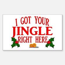 Jingle Bells Decal