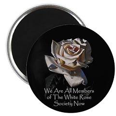 THE WHITE ROSE SOCIETY Magnet