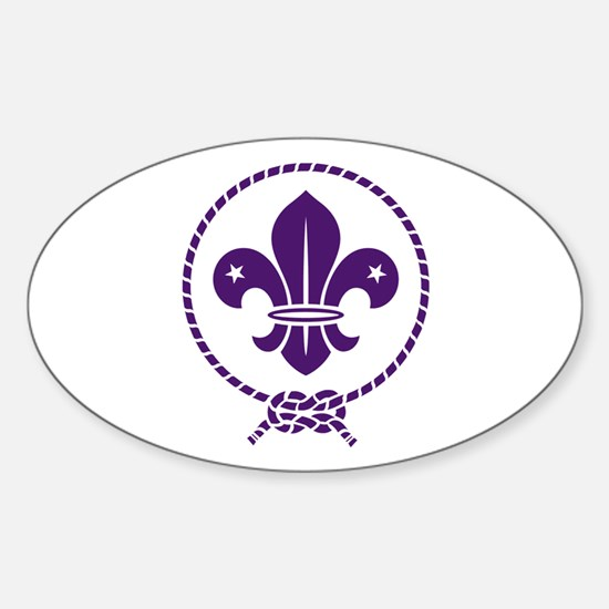 Traditional Scout Sticker (Oval)