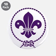 """Traditional Scout 3.5"""" Button (10 pack)"""