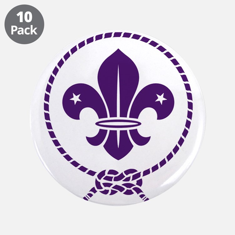 "Traditional Scout 3.5"" Button (10 pack)"