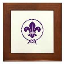 Traditional Scout Framed Tile