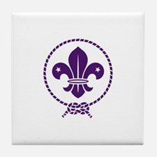 Traditional Scout Tile Coaster