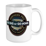Large Go Big Go Home Pike Fishing Mug