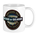 Go Big Go Home Pike Fishing Mug